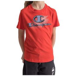 Abbigliamento Unisex bambino T-shirt maniche corte Champion 305332 Rosso