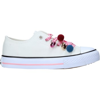 Scarpe Unisex bambino Sneakers Miss Sixty S21-S00MS911 Bianco