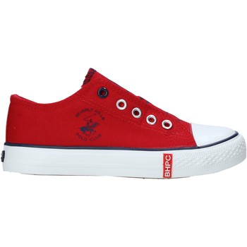 Scarpe Unisex bambino Sneakers basse Beverly Hills Polo Club S21-S00HK535 Rosso