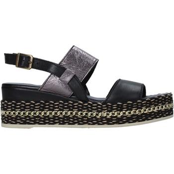 Scarpe Donna Sandali Bueno Shoes 21WS5200 Nero