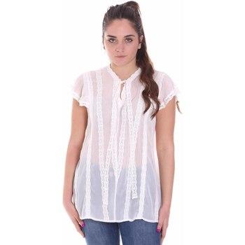 Abbigliamento Donna Top / Blusa Fracomina FR20SMGRAZIA Bianco