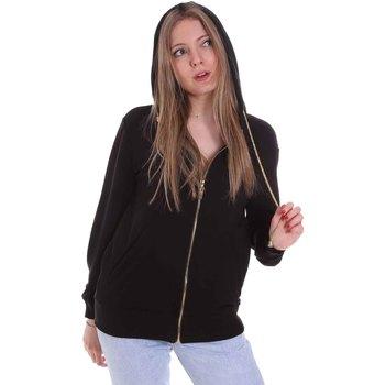 Abbigliamento Donna Felpe Cristinaeffe 4960 Nero