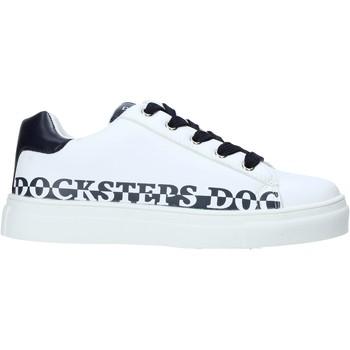 Scarpe Unisex bambino Sneakers Docksteps GLORY1 Bianco