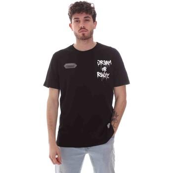 Abbigliamento Uomo T-shirt maniche corte Disclaimer 21EDS50587 Nero