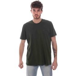 Abbigliamento Uomo T-shirt maniche corte Key Up 2M915 0001 Verde