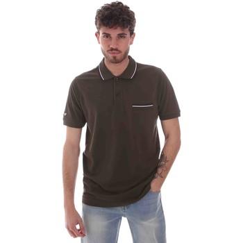 Abbigliamento Uomo Polo maniche corte Key Up 2Q827 0001 Verde