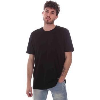 Abbigliamento Uomo T-shirt maniche corte Key Up 2M915 0001 Nero