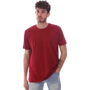 Abbigliamento Uomo T-shirt maniche corte Key Up 2M915 0001 Rosso