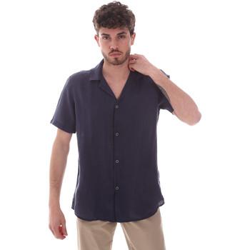 Abbigliamento Uomo Camicie maniche corte Sseinse CE588SS Blu