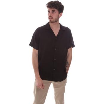 Abbigliamento Uomo Camicie maniche corte Sseinse CE588SS Nero
