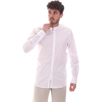 Abbigliamento Uomo Camicie maniche lunghe Sseinse CE639SS Bianco