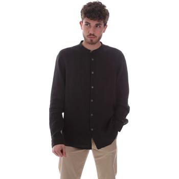 Abbigliamento Uomo Camicie maniche lunghe Sseinse CE643SS Nero