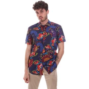 Abbigliamento Uomo Camicie maniche corte Sseinse CE665SS Blu