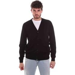 Abbigliamento Uomo Gilet / Cardigan Sseinse ME1831SS Nero