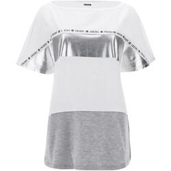 Abbigliamento Donna T-shirt maniche corte Freddy S1WSDT2M Bianco
