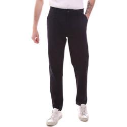 Abbigliamento Uomo Chino Gaudi 111GU25068 Blu