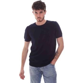 Abbigliamento Uomo T-shirt maniche corte Gaudi 111GU53004 Blu