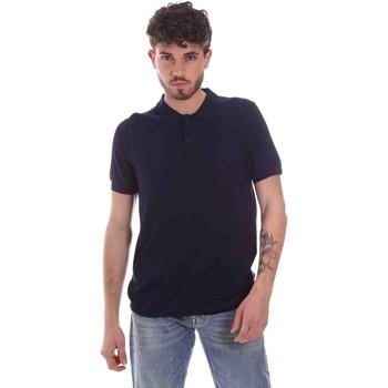 Abbigliamento Uomo Polo maniche corte Gaudi 111GU53015 Blu