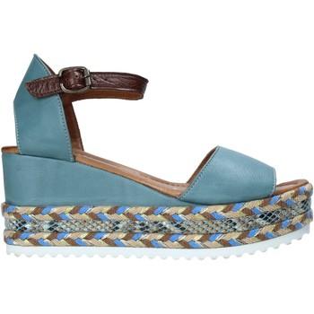 Scarpe Donna Sandali Bueno Shoes 21WQ6000 Blu