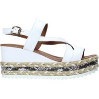Scarpe Donna Sandali Bueno Shoes 21WQ6002 Bianco