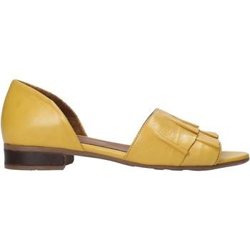Scarpe Donna Sandali Bueno Shoes 21WN5100 Giallo