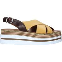 Scarpe Donna Sandali Bueno Shoes 21WS5704 Giallo