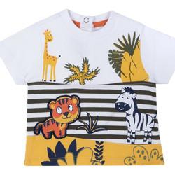 Abbigliamento Unisex bambino T-shirt maniche corte Chicco 09067093000000 Bianco