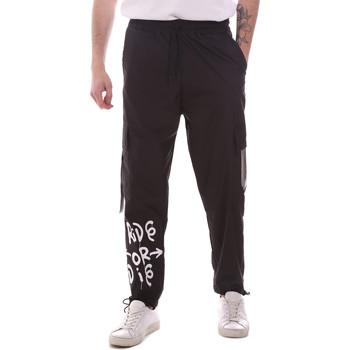 Abbigliamento Uomo Pantalone Cargo Disclaimer 21EDS50560 Nero