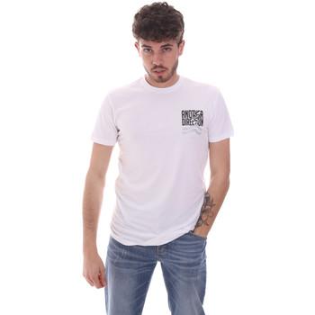 Abbigliamento Uomo T-shirt maniche corte Antony Morato MMKS01993 FA120001 Bianco