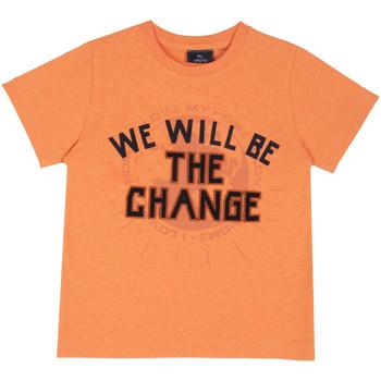 Abbigliamento Unisex bambino T-shirt maniche corte Chicco 09067318000000 Arancio