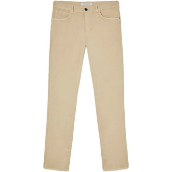 Abbigliamento Uomo Pantaloni 5 tasche Trussardi 52J00007-1T005015 Beige