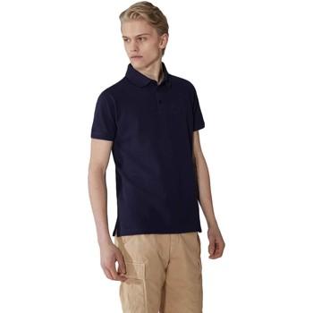 Abbigliamento Uomo Polo maniche corte Trussardi 52T00492-1T003600 Blu
