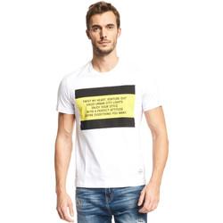 Abbigliamento Uomo T-shirt maniche corte Gaudi 111GU64071 Bianco