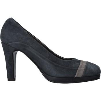 Scarpe Donna Décolleté Confort 3660 Blu