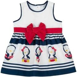 Abbigliamento Bambina Abiti corti Chicco 09003809000000 Bianco