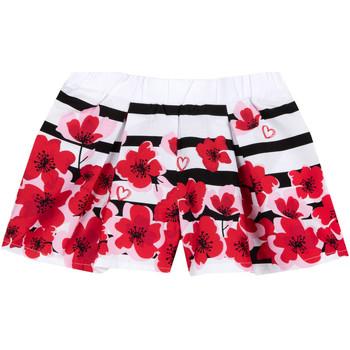 Abbigliamento Bambina Shorts / Bermuda Chicco 09052954000000 Bianco