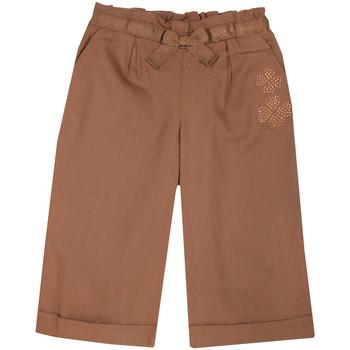 Abbigliamento Bambina Pantaloni morbidi / Pantaloni alla zuava Chicco 09008464000000 Marrone