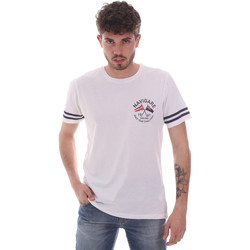 Abbigliamento Uomo T-shirt maniche corte Navigare NV31123 Bianco