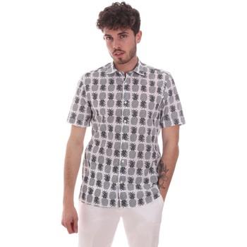 Abbigliamento Uomo Camicie maniche corte Antony Morato MMSS00169 FA430473 Bianco