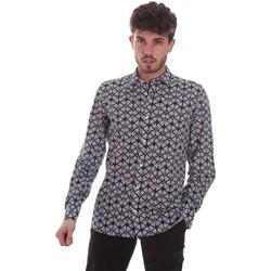 Abbigliamento Uomo Camicie maniche lunghe Antony Morato MMSL00614 FA430480 Nero