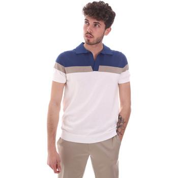 Abbigliamento Uomo Polo maniche corte Antony Morato MMSW01181 YA100063 Bianco