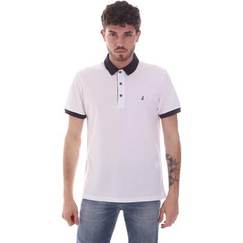 Abbigliamento Uomo Polo maniche corte Navigare NV82124 Bianco