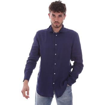 Abbigliamento Uomo Camicie maniche lunghe Gaudi 111GU45005 Blu