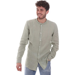 Abbigliamento Uomo Camicie maniche lunghe Gaudi 111GU45006 Verde