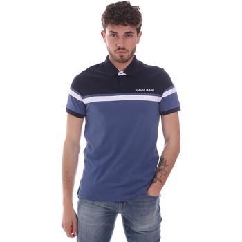 Abbigliamento Uomo Polo maniche corte Gaudi 111GU64104 Blu