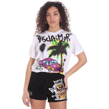 Abbigliamento Donna Shorts / Bermuda Disclaimer 21EDS50639 Bianco