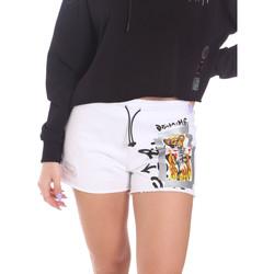 Abbigliamento Donna Shorts / Bermuda Disclaimer 21EDS50650 Bianco