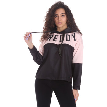 Abbigliamento Donna Felpe Freddy S1WSDS9 Nero