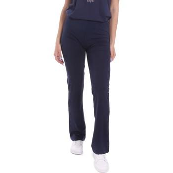 Abbigliamento Donna Pantaloni morbidi / Pantaloni alla zuava Key Up 5LI20 0001 Blu