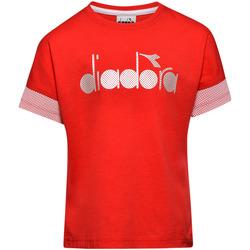 Abbigliamento Unisex bambino T-shirt maniche corte Diadora 102175914 Rosso